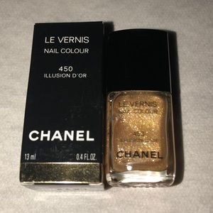 Chanel Nail Colour Illusion D'OR